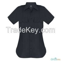 Women Black Security Shirts