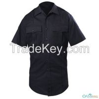 Casual Greyish Black Security Shirt Uniforms