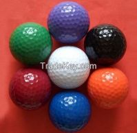 Multicolor golf ball