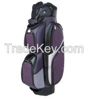 The new design and high quality of purple PU leather golf bag