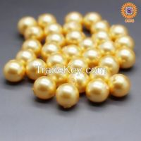 """wholesale 4-20mm 16"""" multi-color south sea shell pearl necklace"""
