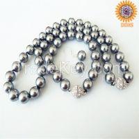 wholesale fashion multi-color south sea shell pearl jewelry set
