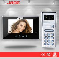 Video Intercom System with Ultra-Slim Design and Password Unlock