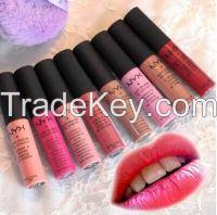 NYX Soft Matte Lip Cream colorful cosmetics lip gloss/ lip gel