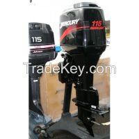 Buy Used Mercury Marine 115 HP 115 HP 2 Stroke Outboard Boat Motor Engine