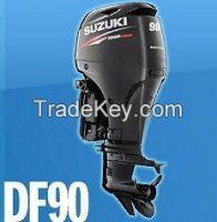 Buy Used Suzuki Df 90 Atl Hp Four Stroke Outboard Boat Motor Engine Long