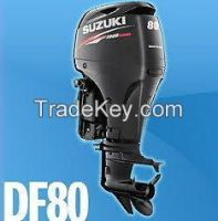 Buy Used Suzuki Df 80 Atl Hp Four Stroke Outboard Boat Motor Engine Long