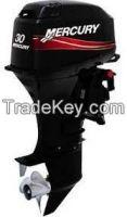 Used Mariner Mercury 2 Two Stroke 30 M Ml Hp Outboard Motor Engine