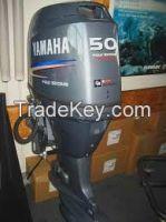 Used Yamaha 50 hp 50hp Outboard Motor Engine