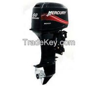 Used Mercury Mariner 2 Two Stroke 60 Hp Outboard Motor Engine Commercial