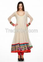White Beautiful Dress for Women's