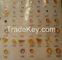 jewelry accessories findings all steel brass raw material