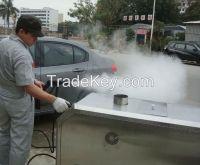 YX-II-L gas fuel mobile steam car washing machine high efficiency