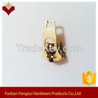 Hot sale Brass Spring Lock Zipper slider and puller