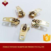 Zipper head metal nickel free slider and puller