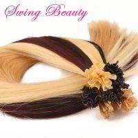 Keratin Pre-bonded Natural Human Hair Extensions