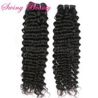 Top Quality Wholesale Virgin Remy Hair Deep Wave Weaving Extension