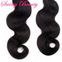 100% Virgin Unprocessed Indian Natural Human Hair Weft Body Wave Weaving Bundles