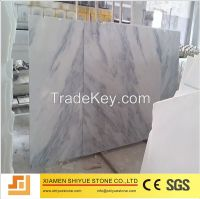 Natural white marble tiles