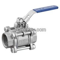 Stainless steel ball valve-3PC ball valve