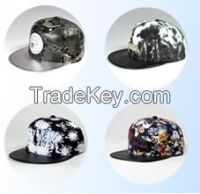 custom snapback hat acrylic letters