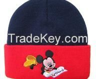 Custom fold up knitted hat and Wholesale Beanies knitting hats