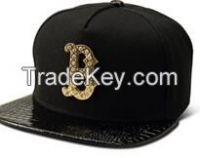 2015 custom new hip hop style cap and hat adjustable with B metal logo snapback cap/unisex baseball cap