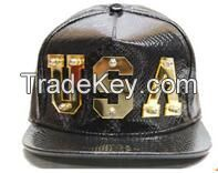 3d acrylic letters for snapback hat/blank acrylic lettering cutting snakeskin snapback caps