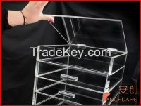 6 tiers acrylic makeup/cosmetics organizers with drawers