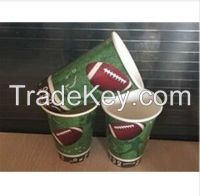 all size top selling single wall disposable paper cup red pink Copycat custom logo printed paper coffee cups