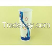20oz food grade double PE cold drink custom logo printed good quality cold drinking
