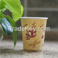 10oz disposable paper hot drink cups nestle coffee cups single wall one-off paper cup hot drinking