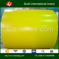 PPGI, Prepainted Galvanized Steel Coil, color coated steel coil with factory price