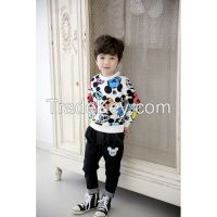 hot sale long sleeve t-shirt for boy and girl in spring