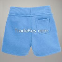 boys cotton short pants with pocket on the back