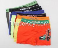 Wholesale Anti-bacterial Breathable Lycra Cotton Cheap Kids Boy Boxers