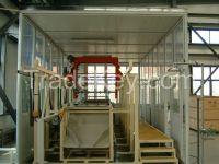 Barrel plating automatic production line