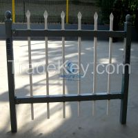 Used Powder Coated Galvanized Steel Fencing Euro Palisade Fence