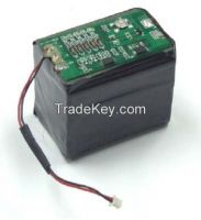 3S2P 12V 1700mAh Li Ion Battery Pack