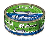 Whole tuna with sunflower oil 700 gram