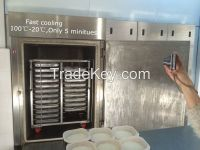 Fast vacuum Cooler for ready -made food