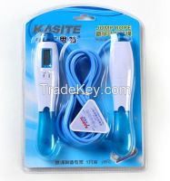 PP adjustable electronic digital PVC jump rope