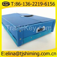 Folding Corrugated Plastic Reusable Box�PP Corrugated Plastic Stackable Boxes/Containers�Folding and collapsible corflute plastic packing box