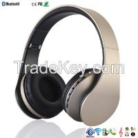 cheap wireless headphones bluetooth headphones with microphone TF card Support FM Radio