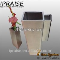 Garden Stainless Steel Flower Planters wholesale