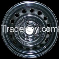Hanvos Iron Steel Wheel Rims snow wheels for north america market