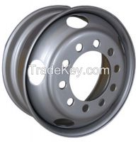 China Hanvos OEM steels wheels for passenger cars and trailers
