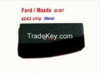 Original auto transponder chip 4D63 chip 80 BIT for Ford Mazda
