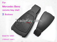 Auto remote key shell 2001 for Mercedes BNEZ 2 buttons