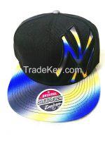 snapback cap with 3D emb